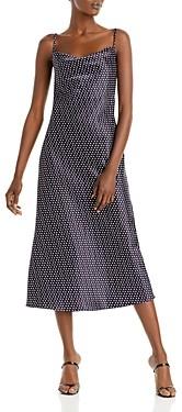 Aqua Cowlneck Midi Dress - 100% Exclusive