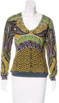 Etro Silk & Cashmere-Blend Sweater