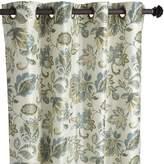 "Pier 1 Imports Glencove Floral Blue 84"" Grommet Curtain"