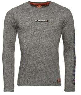 Superdry Trophy Camo Long Sleeve T-Shirt