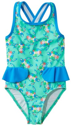 L.L. Bean Infant and Toddler Girls' Tide Surfer Swimsuit, One-Piece