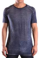 Avant Toi Men's Blue Viscose T-shirt.