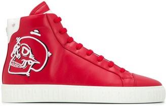 Philipp Plein Skull high-top sneakers