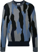 Cerruti patterned jumper - men - Cotton/Polyamide - S