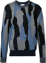 Cerruti patterned jumper