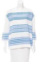 Lemlem Striped Long Sleeve Top