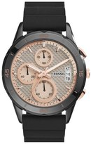 Fossil Women's 'Modern Pursuit' Chronograph Silicone Strap Watch, 39Mm