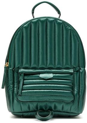 Sarah Chofakian Padded Leather Backpack