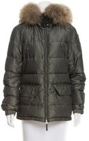 Parajumpers Fur-Trimmed Puffer Jacket