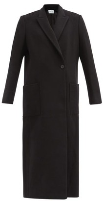 Pallas Paris Herode Felted Wool-blend Longline Coat - Black