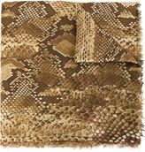 Roberto Cavalli snakeskin print scarf - women - Silk/Polyamide/Polyester/Modal - One Size