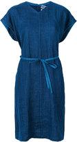 Blue Blue Japan denim tunic dress - women - Cotton/Linen/Flax - S