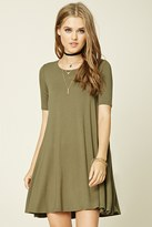 Forever 21 Stretch Knit Trapeze Dress