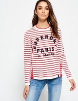 Superdry Le Marais Stripe Knit Jumper