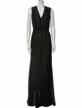 Narciso Rodriguez 2019 Long Dress Black