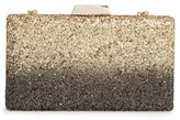 Sole Society Glitter Minaudiere - Metallic