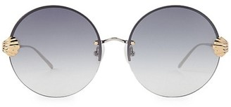 For Art's Sake Goddess 60MM Round Sunglasses