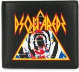 DSQUARED2 logo print wallet