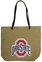 Little Earth Ohio State Buckeyes Burlap Tote Bag
