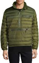 Hawke & Co Men's Puffer Popover Jacket