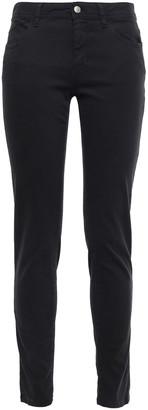 Just Cavalli Embroidered Mid-rise Slim-leg Jeans