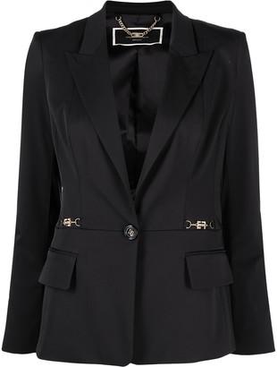 Elisabetta Franchi Tailored Single-Breasted Blazer