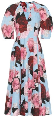 Erdem Exclusive to Mytheresa a Cressida floral cotton-poplin dress