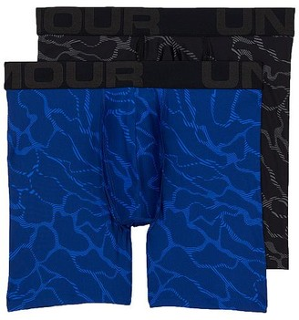 Under Armour Tech 6'' Boxer Brief 2-Pack