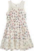 Epic Threads Butterfly-Print Dress, Big Girls, Created for Macy's