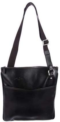 Salvatore Ferragamo Leather Messenger Bag