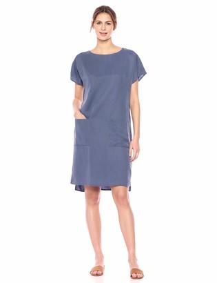 Pendleton Women's Simple Short Sleeve Shift Dress