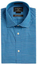 Black & Brown Black Brown Fitted Gingham Dress Shirt