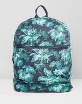 Jack Wills Benville Nylon Bag In Hawaiian Print