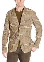 Weatherproof Vintage Men's Camo Deconstructed Blazer