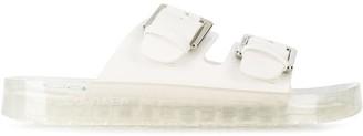 Calvin Klein Buckled Strap Sandals