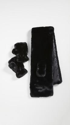 Apparis Scarf & Fingerless Mittens Gift Set