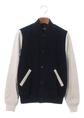 A.P.C. Blue Wool Jackets