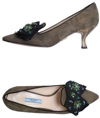 Prada Moccasins with heel