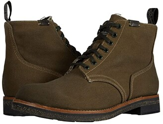 Polo Ralph Lauren Army Boot (Classic Olive Waxed Canvas) Men's Shoes