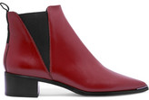 Acne Studios Jensen Leather Ankle Boots - Brick