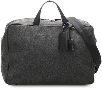 Prada Pre-Owned Woven Travel Bag