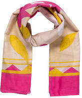 Emilio Pucci Multicolor Abstract Printed Scarf