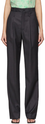 Commission Grey Double Waisted Trousers