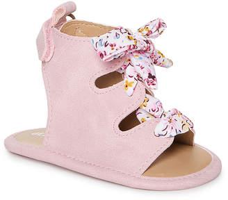 Blush B-Lush Delia*S dELiA*s Girls' Sandals Blush - Blush Floral Lace-Up Gladiator Sandal - Girls