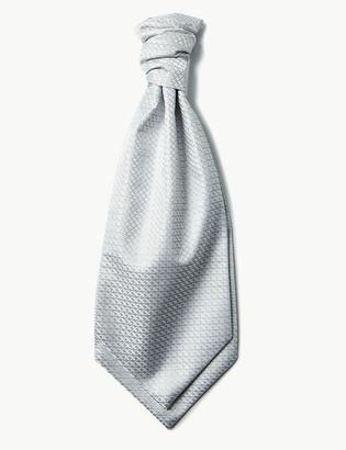 Marks and Spencer Jacquard Cravat & Pocket Square Set