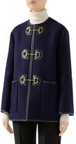 Gucci Military Stretch-Wool Jacket