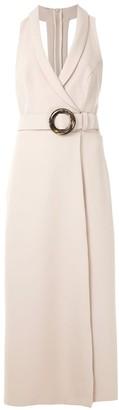 Framed High Tailoring midi dress