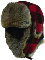 Woolrich Fur Check Trapper
