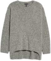 Eileen Fisher Women's High/low Alpaca Blend Sweater