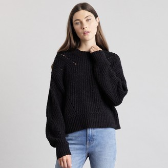 Elizabeth and James Women's Open Stitch Sweater